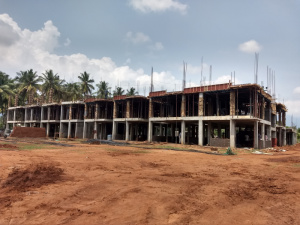 SAMARTH, First floor roofslab work in progress, May 2018