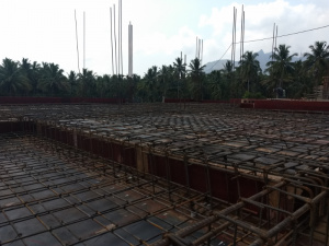 SAMARTH, Reinforcement work in progress, May 2018
